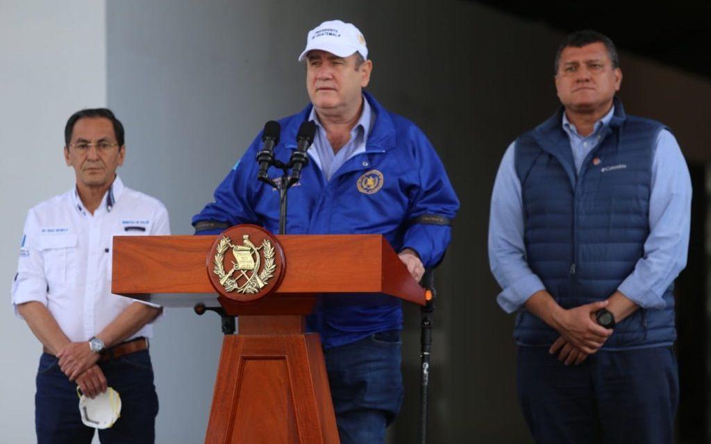 Toque de queda en guatemala por el coviD-19