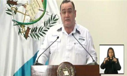 Presidente Giammattei confirma dos casos más de Covid-19 en Guatemala