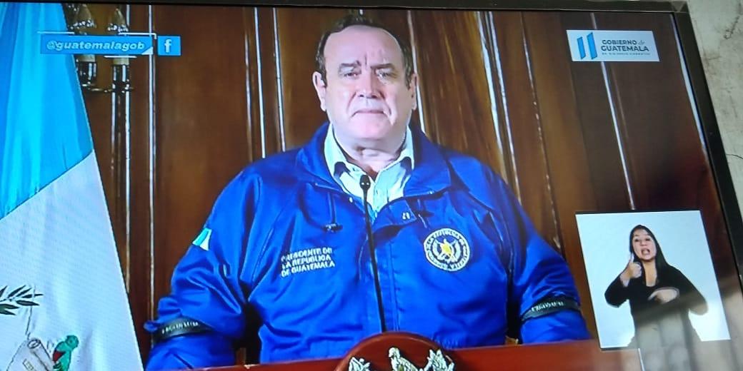 Presidente de Guatemala confirma caso 21 de Covid-19, estrategia financiera y App