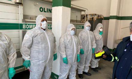 Entregan equipo de protección a Bomberos Municipales Departamentales