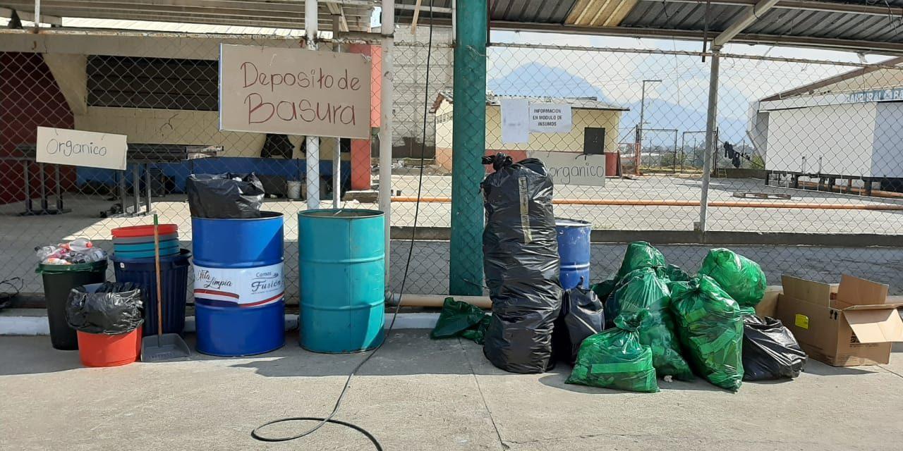 MARN implementa tratamiento de agua en Hospital Temporal Quetzaltenango Covid-19