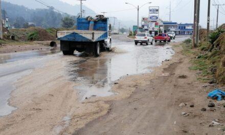 Vecinos del Valle de Palajunoj preocupados por lluvias