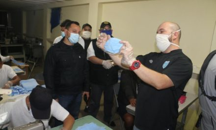 Privados de libertad donan mascarillas para evitar contagio de Covid-19