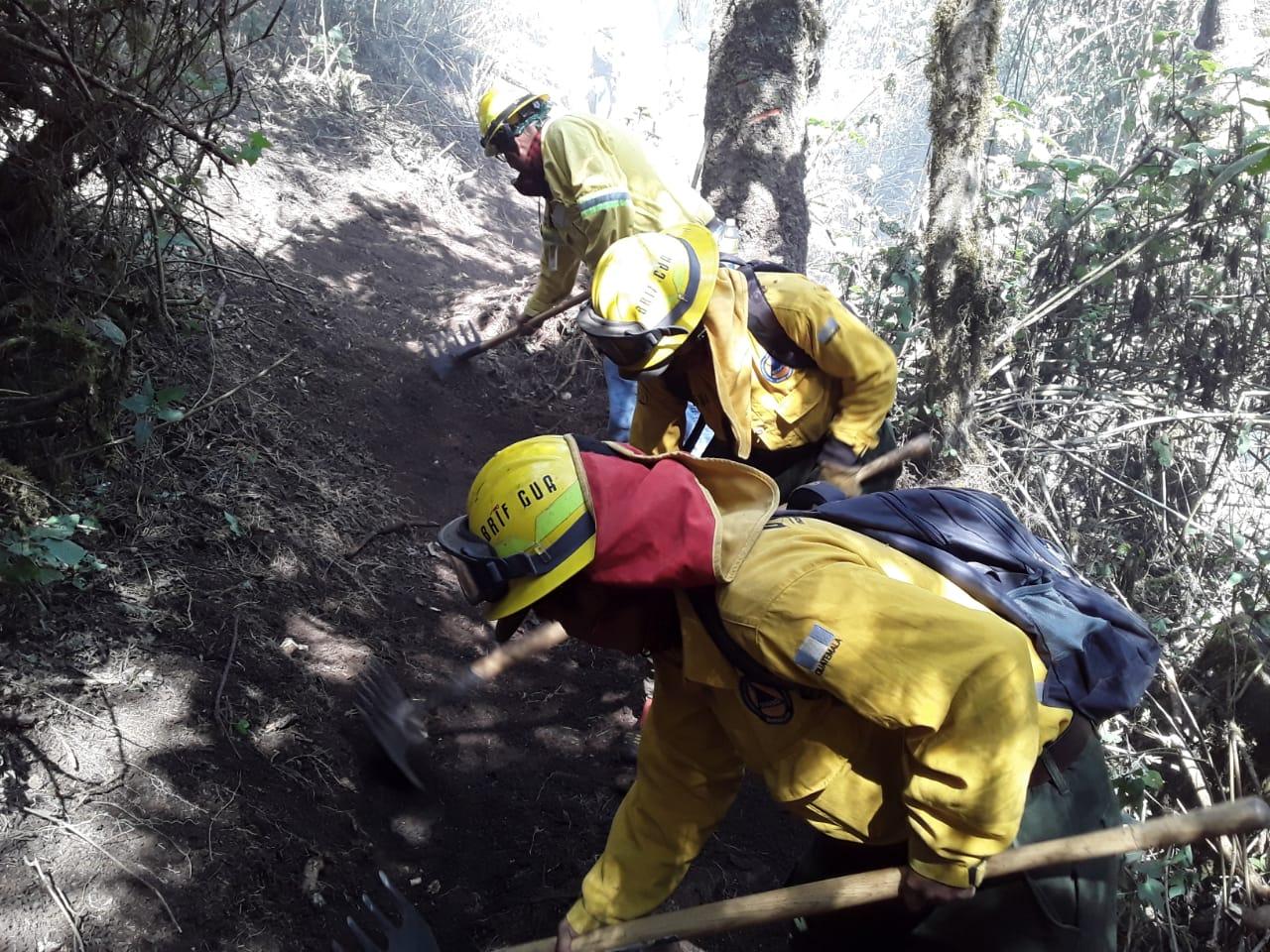 ¿Quetzaltenango está entre los departamentos más afectados por incendios forestales?
