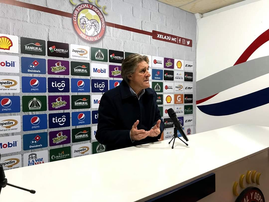 Xelajú MC: Sergio Egea finiquitado. El técnico dejó recomendaciones ante un posible regreso