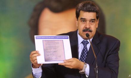Maduro pone en la mira a defensores de DD.HH.