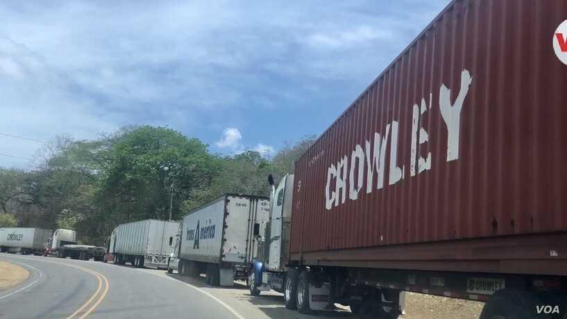 Costa Rica: Las fronteras no están cerradas para el transporte de carga