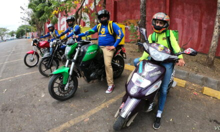 Servicios de entrega salvan a algunos desempleados en Nicaragua