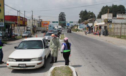 Así el control para evitar locomoción interdepartamental en Quetzaltenango