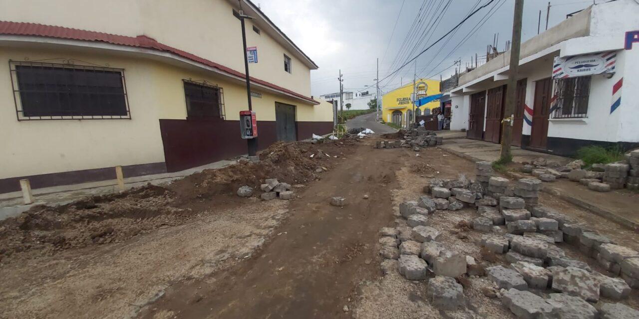 Finalizan trabajos por socavamiento en la zona 7 de Xela