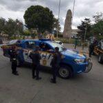 PNC acciona para evitar manifestaciones en Quetzaltenango