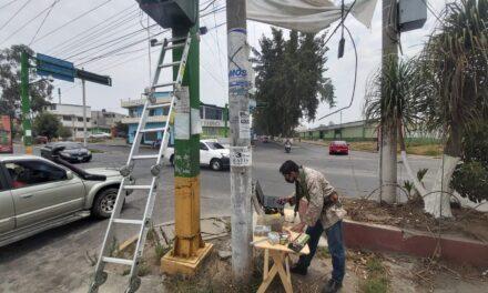 Semáforos en Xela se dañan por sobrecarga de energía eléctrica