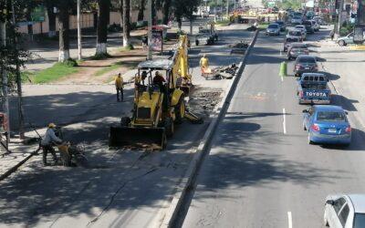 ¿Por qué habilitan carril reversible en la avenida Las Américas?