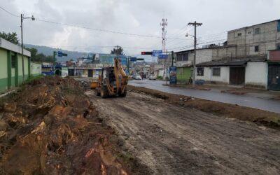Pavimentación en la 24 avenida, zona 3 de Xela, durará tres meses