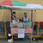 Atiende negocio de antojitos en medio de la pandemia del COVID-19 ¿Cómo aplica medidas de higiene?