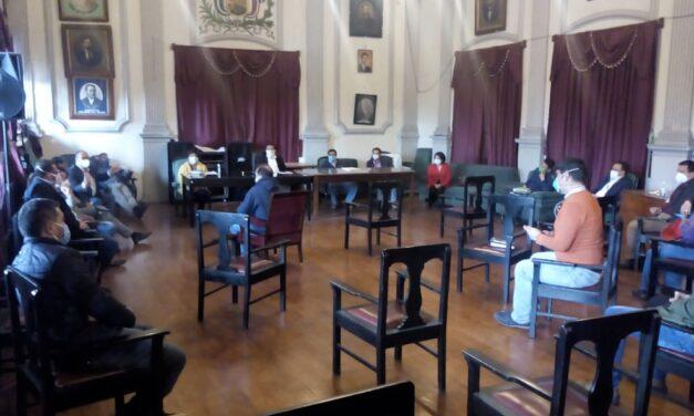 Área de Salud de Quetzaltenango, da recomendaciones a Concejo Municipal para evitar la propagación del COVID-19