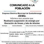 EEMQ cortará árboles que representan peligro