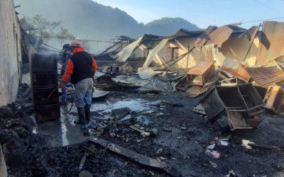 """Vecino de San Lucas Tolimán: """"Ni cuando fue el conflicto armado ocurrió algo así"""""""