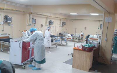 HRO ahora tiene capacidad para atender a 20 pacientes graves de COVID-19