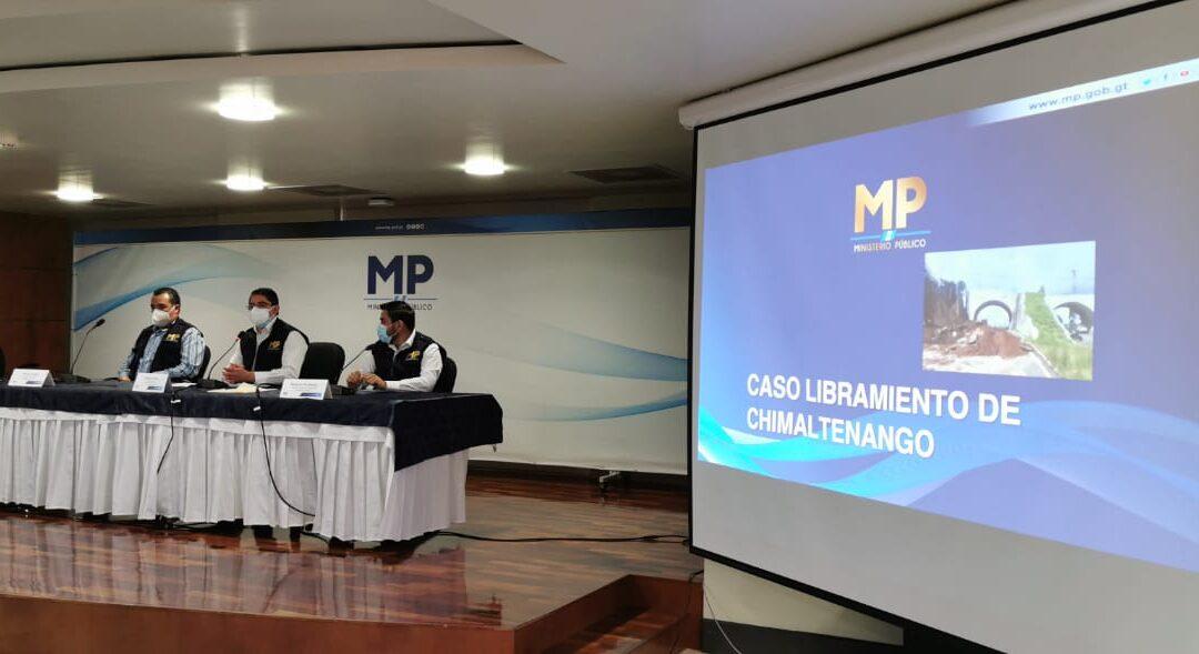 "MP arresta a 17 personas vinculadas a ""mega obra"" del gobierno de Jimmy Morales"