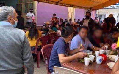 ¿Por qué había aglomeración de personas en San Juan Ostuncalco?