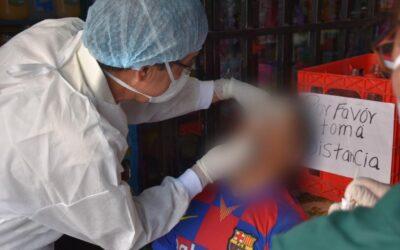 Aumenta demanda de pruebas de COVID-19 en la ciudad de Quetzaltenango