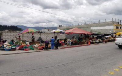 Autoridades advierten de decomiso de producto a comerciantes que se instalen en zonas no permitidas