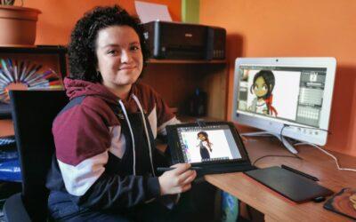 Plasma la cultura de Guatemala en personajes virtuales, al estilo de Disney