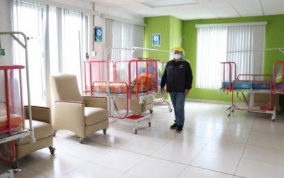 IGSS de Xela habilita área con capacidad para atender 115 pacientes positivos de COVID-19