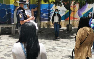 15 jóvenes quetzaltecos inician servicio cívico en Provial