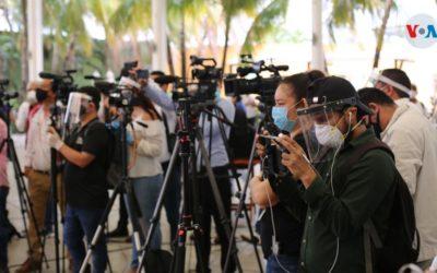 Periodistas en Nicaragua denuncian agresiones durante cobertura de la pandemia