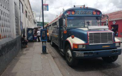 Comuna de Xela propondrá amnistía a transportistas para evitar aumento de la tarifa del pasaje