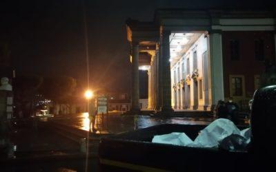 Hombre muere en el frontispicio del Teatro Municipal de Quetzaltenango