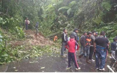 Quetzaltenango | Monitorean rutas hacia la Costa Sur debido a saturación de suelos