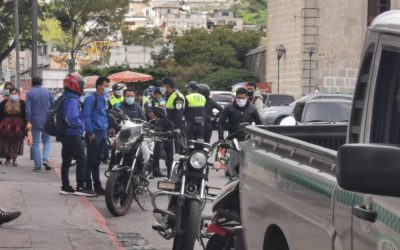 PMTQ desmiente versión de convenio con agencias, incrementan operativos y ya han consignado varias motos