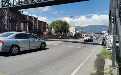 Disminuyen accidentes viales en la Calzada Manuel Lisandro Barillas