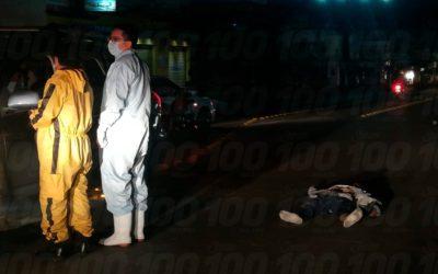 Accidente mortal en calzada Manuel Lisandro Barillas