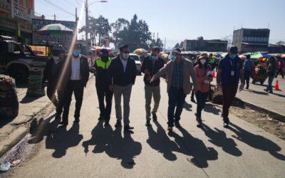 Pretenden señalizar y modificar terminal de buses Minerva en Quetzaltenango