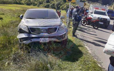 Motorista muere en la ruta entre Olintepeque y San Carlos Sija