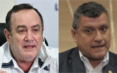 Supuesto chat evidenciaría fractura de la relación del binomio presidencial de Guatemala