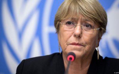 Bachelet insta a la liberación de presos políticos en Venezuela y Nicaragua