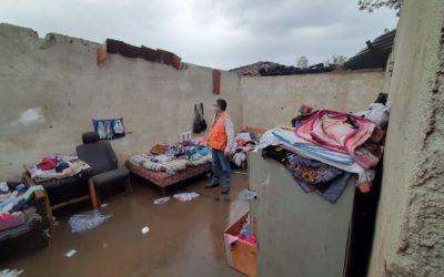 Tres departamentos en el Occidente del país son los mas afectados  en la temporada de lluvias