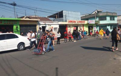 Municipalidad de Quetzaltenango decomisará productos que estén bloqueando paso peatonal