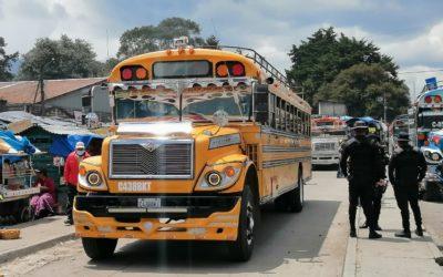 Piden reforzar seguridad, ante reactivación del servicio de transporte extraurbano en Quetzaltenango
