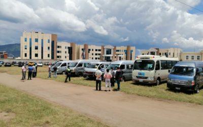 Revisan microbuses en Xela previo a su reactivación