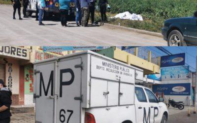 Localizan, en menos de una hora, dos cadáveres en Salcajá