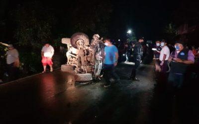 Identifican a heridos en trágico accidente en la ruta Cito Zarco