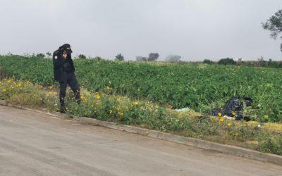 Cadáver de hombre, hallado en Salcajá, tiene señales de violencia