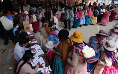 Bolivia: recuento no oficial adelanta victoria electoral del candidato del MAS
