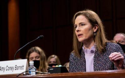 Comisión Judicial del Senado votará nominación de Barrett próxima semana